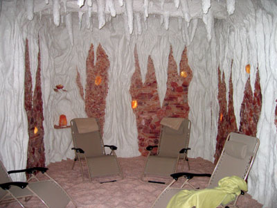 <p>Timeless Spa &amp; Salt Cave in Naperville, Illinois, offers a unique feature: A Himalayan salt cave.</p>