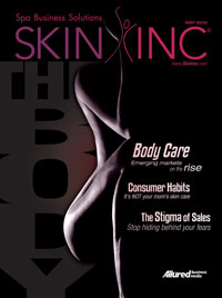 Skin Inc. May 2010 cover