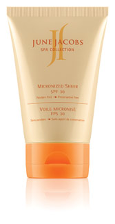 June Jacobs Spa Collection's Micronized Sheer SPF 30