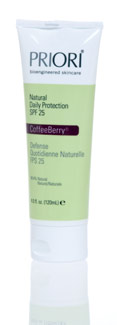 Priori's CoffeeBerry Natureceuticals Natural Daily Protection SPF 25