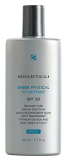 SkinCeutical's Sheer Physical UV Defense SPF 50