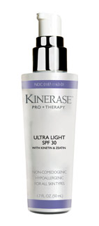 Valeant Pharmaceuticals' Kinerase Pro + Therapy Ultra Light SPF 30