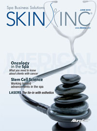 June 2010 Skin Inc. magazine Cover