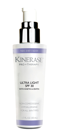 Valeant Pharmaceuticals' Kinerase Pro+ Therapy Ultra Light SPF 30