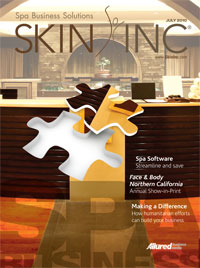 Skin Inc. magazine July 2010 cover