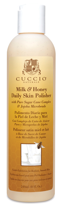 Cuccio Naturalé's Milk & Honey Daily Skin Polisher