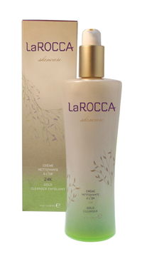 LaRocca Skincare's 24K Gold Gentle Exfoliating Cleanser