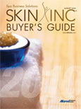 2010 Skin Inc. Buyer's Guide cover