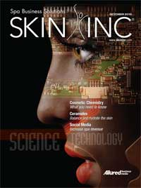 Skin Inc. October 2010 cover