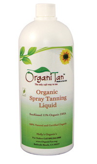 Molly's Organics OrganiTan Spray Tanning Liquid