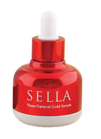 Sella All Natural Skincare Nano Gold Serum