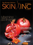 Skin Inc. magazine December 2010 cover