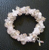 SkinCare Fundamentals Breast Cancer Awareness Bracelet