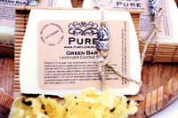 Pure Lathers Organic Beer Soap