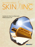 March 2011 Skin Inc. cover