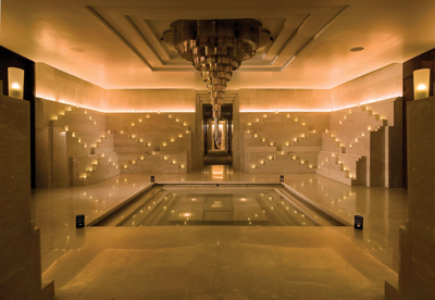 The lifestyle boutique located in The Claridges Spa features a variety of retail items.