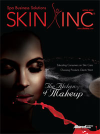 April 2011 Skin Inc. cover