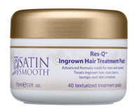 Satin Smooth Res-Q Ingrown Hair Treatment Mousse and Advanced Ingrown Hair Treatment Pads