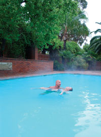 Rancho La Puerta in Tecate, Baja California, Mexico, has added Watsu aquatic bodywork to its menu, offered by David Towe.