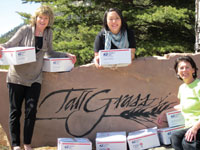TallGrass Aveda Spa and Salon in Evergreen, CO, coordinated the second shipment of The Soldier Box Project in an effort to send support to troops in Afghanistan.