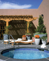 The Tamaya Mist Spa at the Hyatt Regency Tamaya Resort & Spa in Santa Ana Pueblo, NM