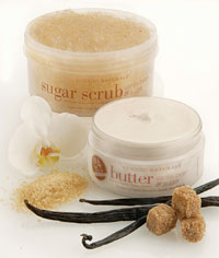 Cuccio Natural Vanilla Bean &amp; Sugar Butter Blend and Sugar Scrub