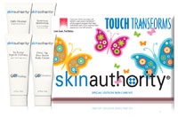 Skin Authority Touch Transforms Home Care Kit