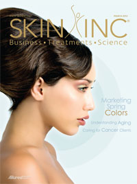 March 2012 Skin Inc. magazine cover