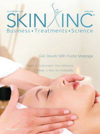 Skin Inc. April 2012 cover
