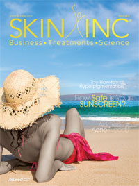 Skin Inc. May 2012 cover