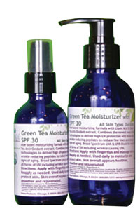 Peace Spa Products Green Tea Moisturizer with SPF 30