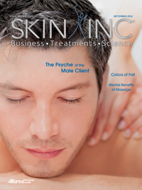 Skin Inc. September 2012 cover