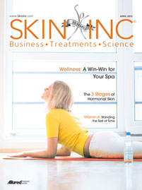 Skin Inc. April 2013 cover