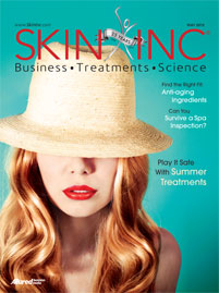 Skin Inc. May 2013 cover