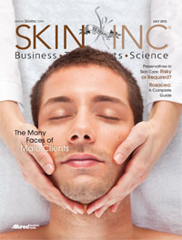 Skin Inc. July 2013 cover