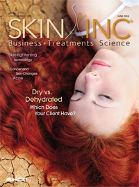 Skin Inc. June 2014 cover