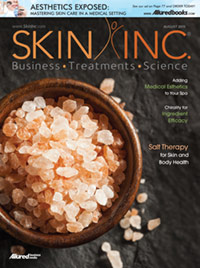 Skin Inc. August 2015 Cover