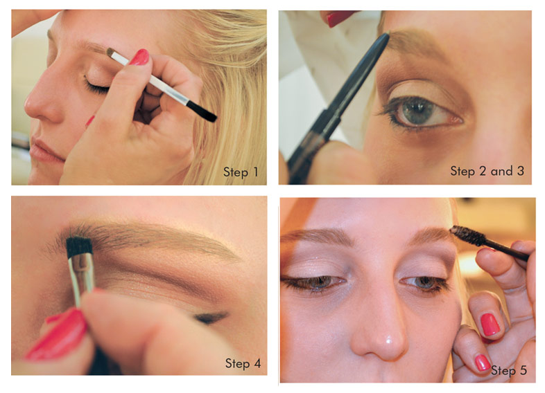 Steps to fuller eyebrows
