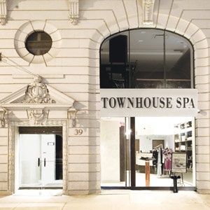 Exterior of the Townhouse Spa