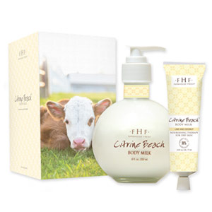 Citrine Beach Body Milk