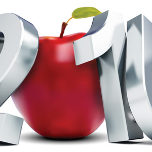 2016 with an apple