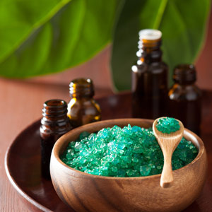 Green bath salts