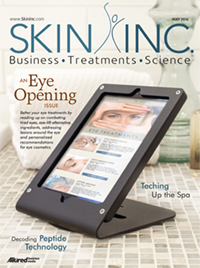 Skin Inc. May 2016 cover