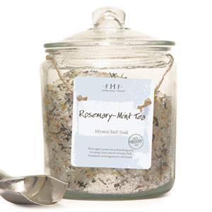 Rosemary-Mint Tea Gourmet Mineral Bath Soak