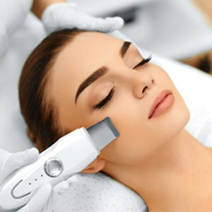 Ultrasonic cleansing