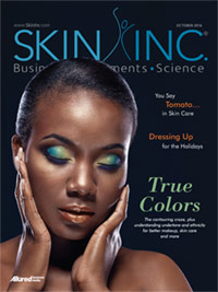 Skin Inc. October Cover 2016