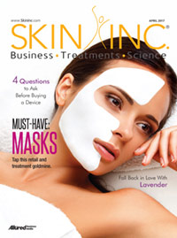 Skin Inc. April 2017 cover