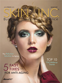 Skin Inc. August 2017 cover