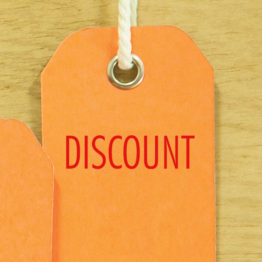 Discounting spa services