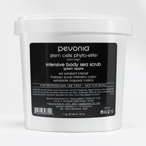 Pevonia's Stem Cells Phyto-Elite Intensive Body Sea Scrub in green apple